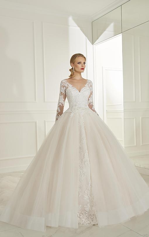 Robe de mariée princesse avec manches