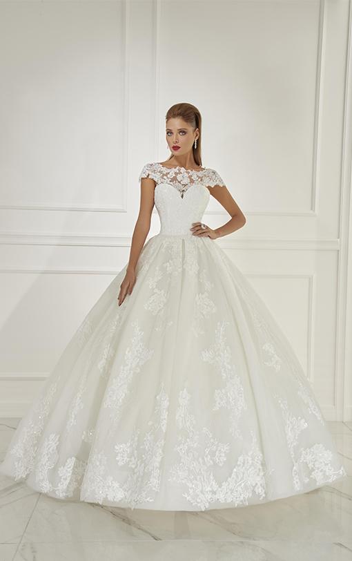robe de mariée princesse manches amovibles
