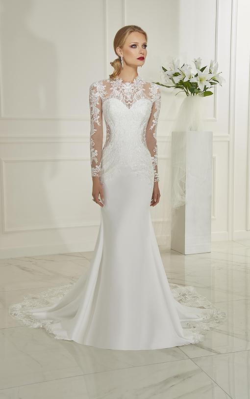 robe de mariée sirène en satin