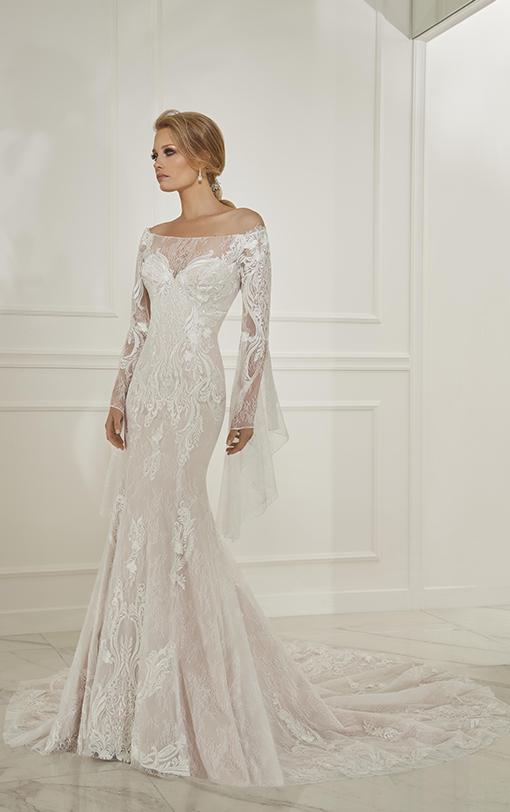 robe de mariée manches chauve souris