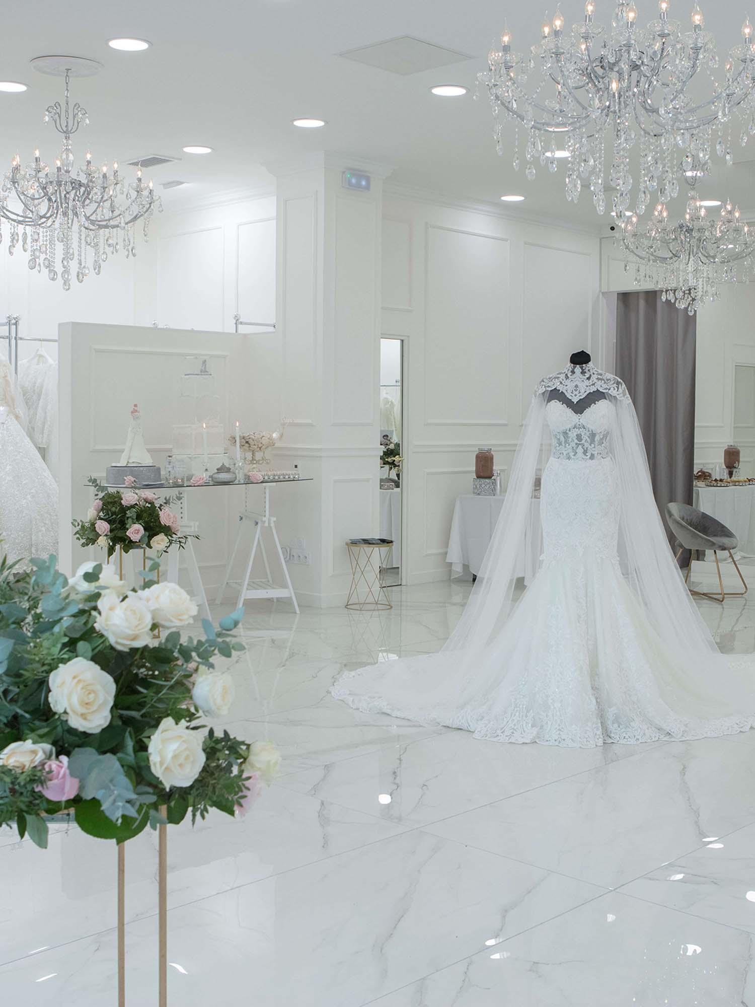 boutique de robe de mariée à Paris